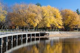 Dow's Lake Pavilion Boardwalk Garden