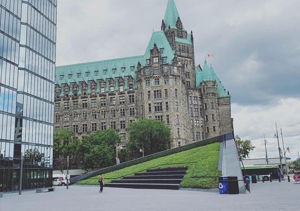 Bank of Canada Plaza Garden
